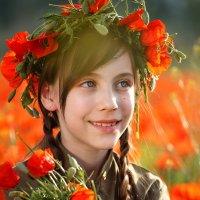 Портрет Ребенка в Маках :: Евгений Морозов
