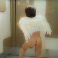 встретила ангелочка ) :: Мария Корнилова