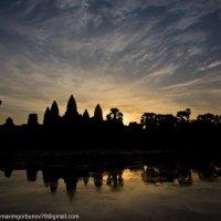анкор ват, камбоджа, рассвет :: Максим Горбунов