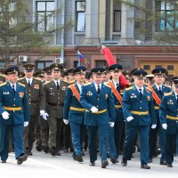 Парад в Омске :: Savayr