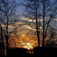 закат в городе :: Натали Акшинцева