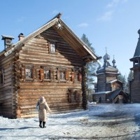 Малые Корелы, музей деревянного зодчества :: Ирина Коваленко