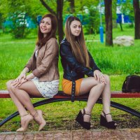Ксения и Юлия :: Виктория Коломиец