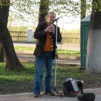 Уличный музыкант :: Александр Буянов