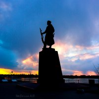 Памятник Основателям Иркутска :: Алексей Белик