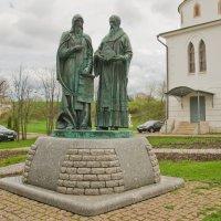 Памятник святым равноапостольным  Кириллу и Мефодию. :: Виктор Евстратов