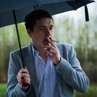Под дождем :: Алексей Елесов