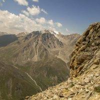 горы. по ходу восхождения :: Горный турист Иван Иванов