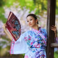 Sakura dance :: Екатерина Степанова