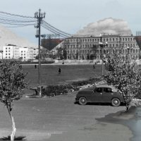 Площадь Ленина Хабаровск 1956-2015 :: Oleg Bo