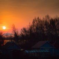 Майское утро на вторых садах. День будет ветреным. :: Сергей Щелкунов
