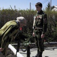 Низкий поклон тебе Великий воин. :: Ирина Киямова