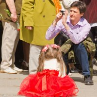 Папа,сфоткай меня! :: Виктор Евстратов