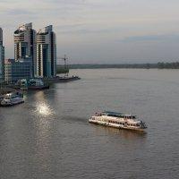 вид на речной порт Барнаула :: Ирина