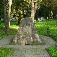 Памятник  от  польской  общины  в  Ивано - Франковске :: Андрей  Васильевич Коляскин