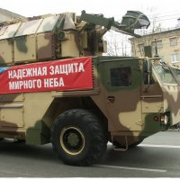 Зенитно-ракетный комплекс «ТОР» (9 мая 2015 Парад в Ижевске) :: muh5257