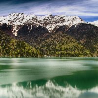 Озеро Рица :: Виталий Павлов