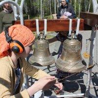 Звонарь в оранжевом платке :: Наталья Золотых-Сибирская