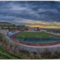 Стадион за мед.академией в Красноярске :: Николай Аносов
