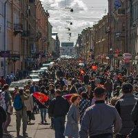 Празднование 9 МАЯ в Санкт-Петербурге. :: Владимир Питерский