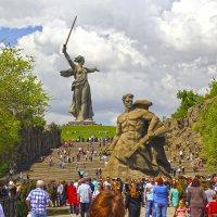 Мамаев курган. :: Юрий Шатыгин