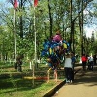 Майские праздничные в парке. :: Ольга Кривых