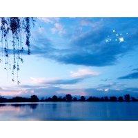Закат на озере :: Лидия Швец