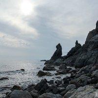 Морские этюды. На закате. :: Нина Борисова