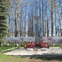 памятник неизвестному солдату в поселке Арбаж :: Таня