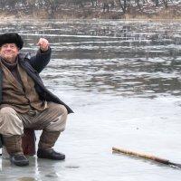 Зимняя рыбалка на Южном Буге :: snik ...