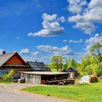У  дороги  под  небом  голубым... :: Валера39 Василевский.