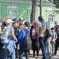 Инструктаж паломников. :: Андрей Синицын