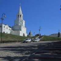 Белые башни Казанского Кремля :: Лидия кутузова