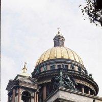 фрагмент Иссакиевсково собора. :: Андрей Воронков