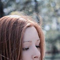 Рыжая девушка в HDR :: Дмитрий Строж