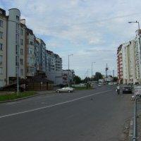 Улица  Владимира  Великого  в  Ивано - Франковске :: Андрей  Васильевич Коляскин