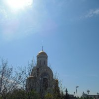 Храм Георгия Победоносца. :: Мила