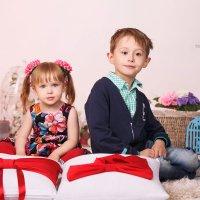 Алиса и  Саша :: Александр Матвеев