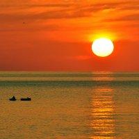Рыбалка удалась или утомленные солнцем... :: Александр Бойко