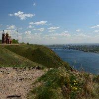 Церковь на берегу Енисея :: Светлана Грызлова