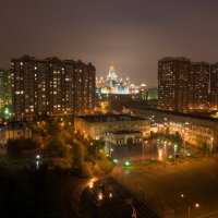 Москва обычный вид из окна :: Денис Шевчук