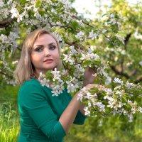весна в яблочном саду... :: Райская птица Бородина