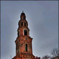 колокольня, Петропавловский Юрьевский женский монастырь :: Дмитрий Анцыферов