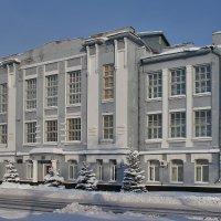 Усмань. Здание бывшего реального училища. Педагогический колледж :: Алексей Шаповалов Стерх