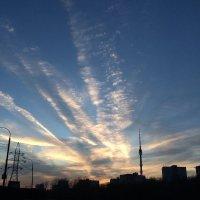 Красивый закат :: Евгений Белов