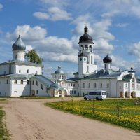 Крыпецкий Иоанно-Богословский монастырь :: Ирина Никифорова