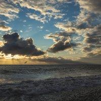 Закат 10 апреля 2015 г. :: Дмитрий Палюнин