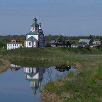 отражение в Суздале :: Сергей Цветков