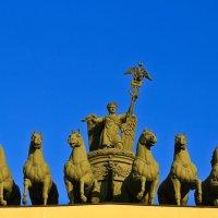 Слава мчится в колеснице, запряженной шестеркой коней! :: galiyalex .