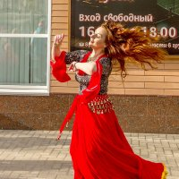 Рыжеволосая цыганка :: Александр Неустроев